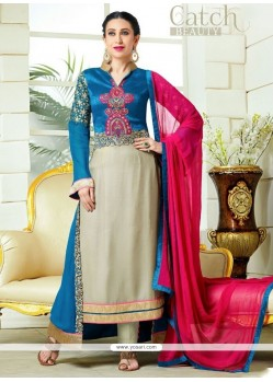 Karishma Kapoor Embroidered Work Designer Salwar Suit