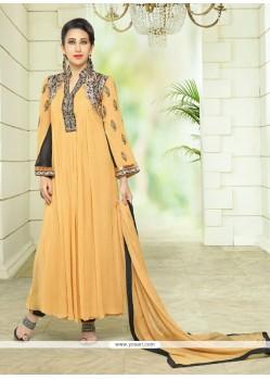 Karishma Kapoor Zari Work Anarkali Salwar Suit
