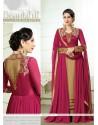 Karishma Kapoor Hot Pink Designer Salwar Suit