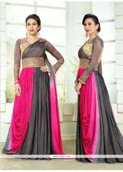 Karishma Kapoor Zari Work Designer Salwar Kameez