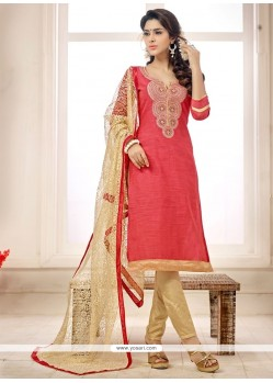Blooming Cotton Churidar Salwar Kameez