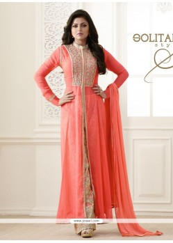 Ravishing Embroidered Work Georgette Designer Palazzo Salwar Suit