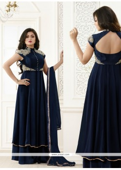 Renowned Zari Work Georgette Designer Salwar Suit