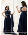 Renowned Zari Work Georgette Designer Salwar Suit