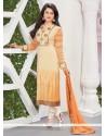 Lustre Viscose Designer Straight Salwar Suit