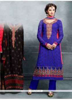 Affectionate Resham Work Designer Pakistani Suit