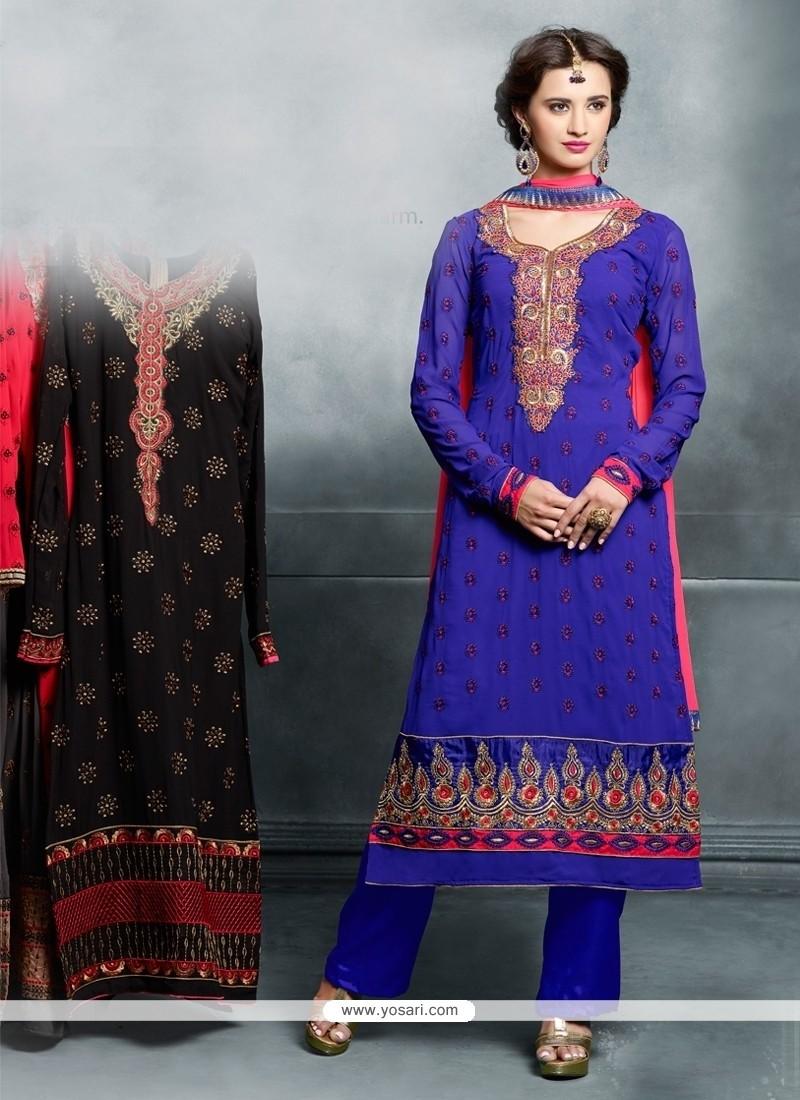 Affectionate Resham Work Designer Pakistani Suit