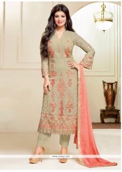 Ayesha Takia Lace Work Pant Style Suit