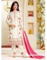 Ayesha Takia White Pant Style Suit