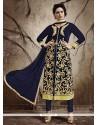 Luxurious Velvet Designer Straight Salwar Kameez