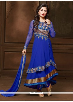 Luscious Georgette Anarkali Salwar Suit