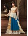 Graceful Georgette Blue Designer Salwar Suit