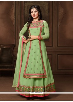 Amusing Georgette Anarkali Salwar Suit