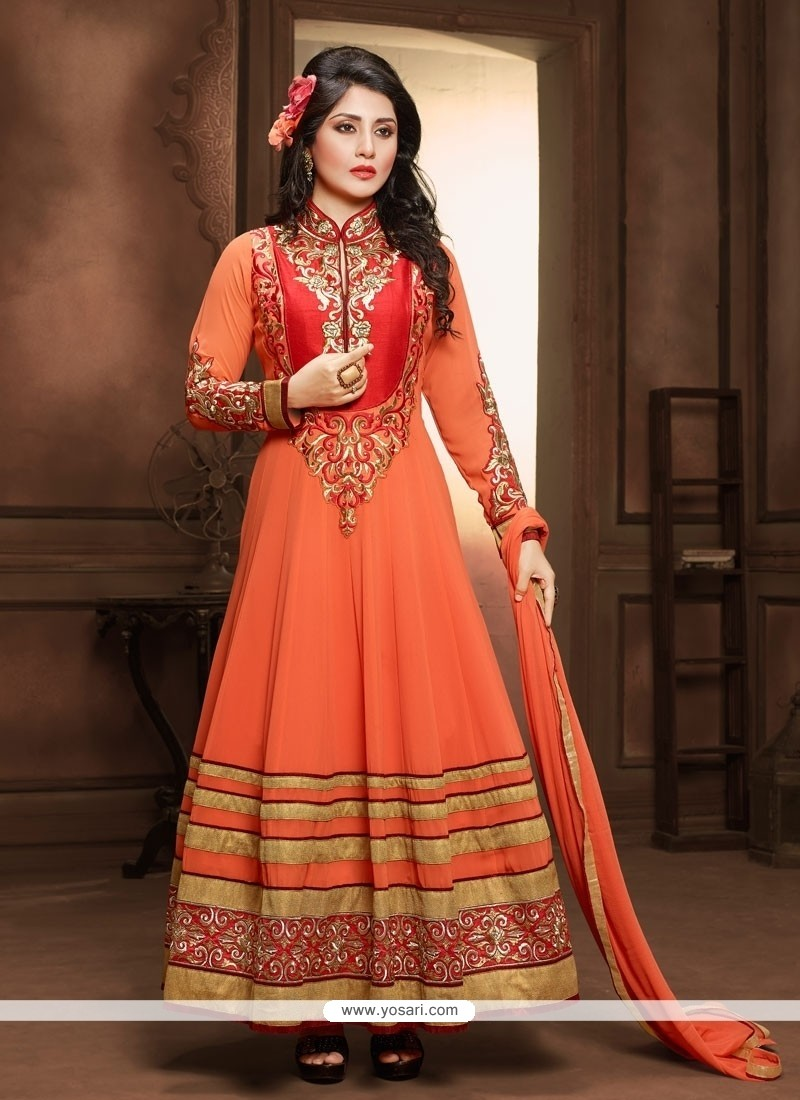 Mystical Georgette Anarkali Suit