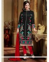 Charismatic Embroidered Work Designer Straight Salwar Suit