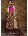 Excellent Multi Colour Anarkali Salwar Suit