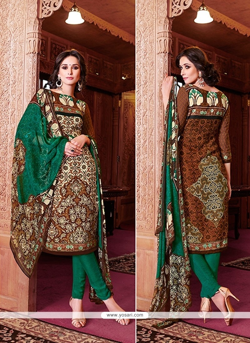Superlative Lace Work Churidar Designer Suit