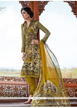 Superlative Pashmina Churidar Salwar Suit