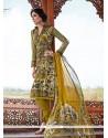 Superlative Pashmina Churidar Salwar Suit