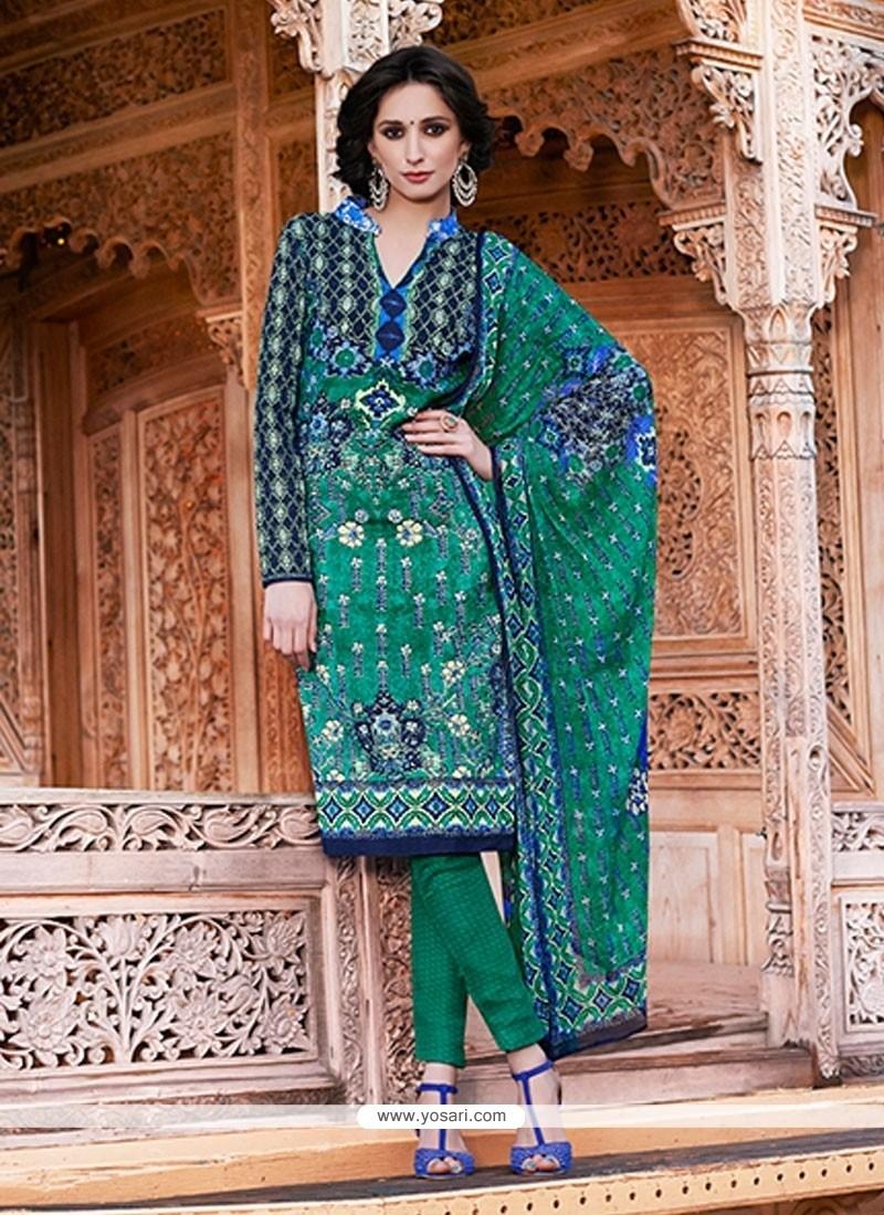Modern Pashmina Churidar Salwar Kameez