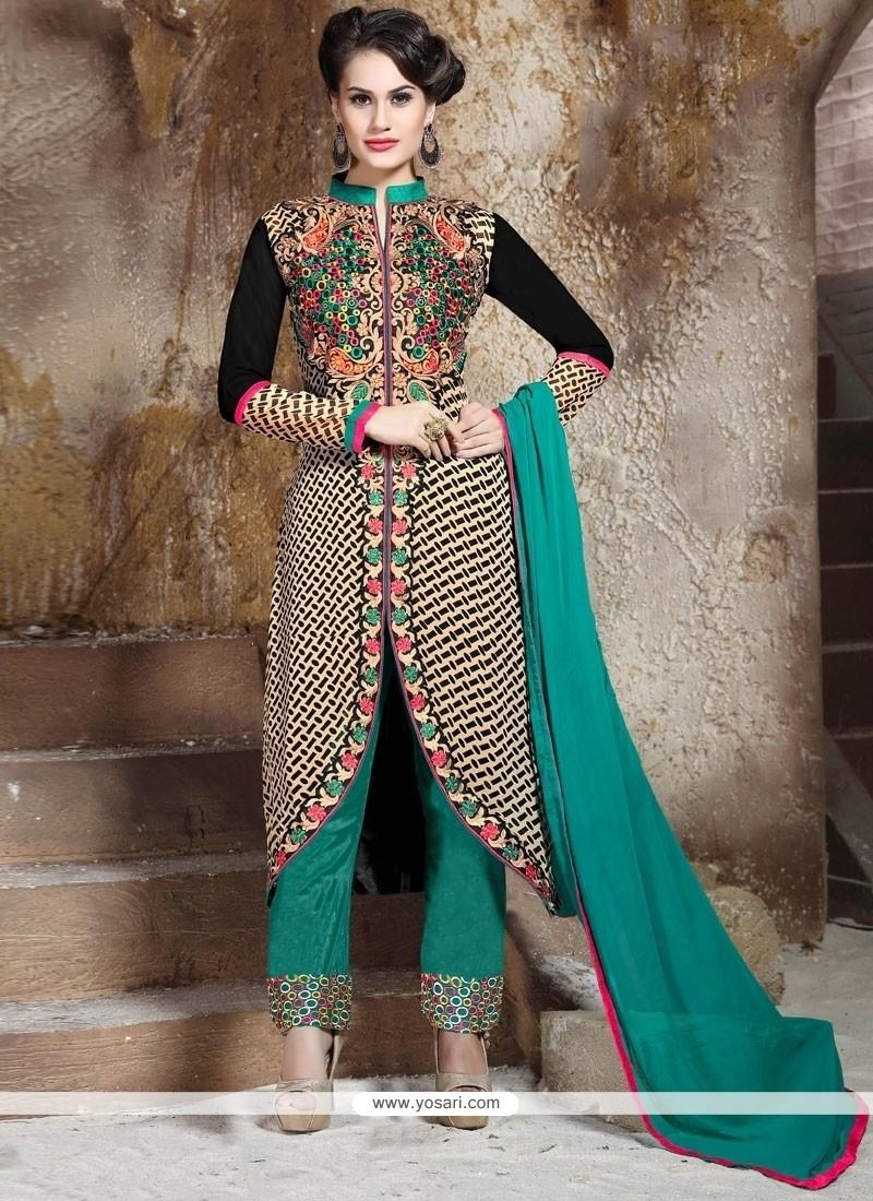 Modish Georgette Designer Salwar Suit