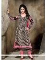 Lavish Black Designer Straight Salwar Suit