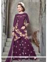 Ruritanian Embroidered Work Designer Palazzo Salwar Suit