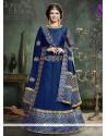 Ayesha Takia Blue Anarkali Salwar Kameez