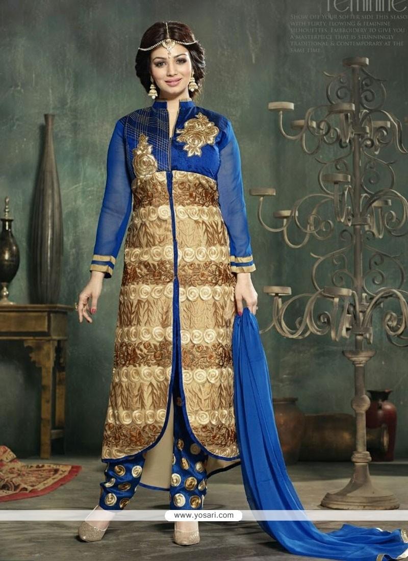 Ayesha Takia Georgette Designer Salwar Kameez.