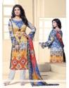 Ayesha Takia Print Work Designer Straight Salwar Suit