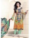 Ayesha Takia Designer Straight Salwar Suit