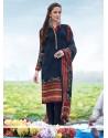 Multi Colour Pashmina Churidar Designer Suit