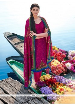 Divine Multi Colour Churidar Designer Suit