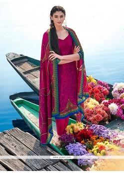 Divine Multi Colour Churidar Designer Suit