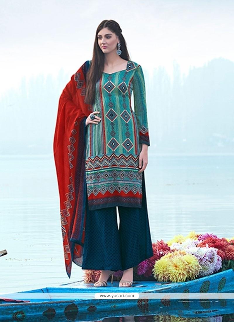 Flawless Pashmina Designer Suit