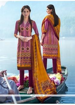 Swanky Multi Colour Churidar Designer Suit