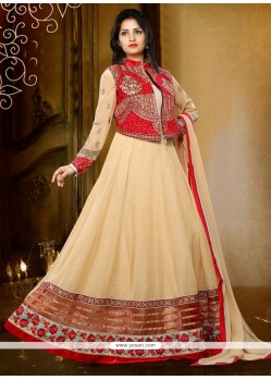 Intrinsic Resham Work Anarkali Salwar Kameez