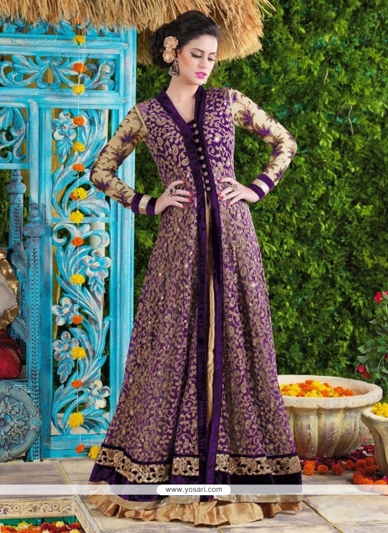 Luxurious Embroidered Work Designer Suit