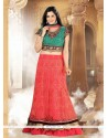 Adorable Georgette A Line Lehenga Choli