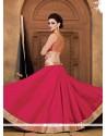 Masterly Lace Work Raw Silk A Line Lehenga Choli