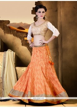 Beguiling A Line Lehenga Choli For Festival