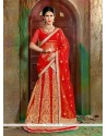 Prepossessing Net Red A Line Lehenga Choli