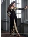Enchanting Velvet Designer Straight Salwar Suit