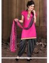 Best Lace Work Cotton Designer Patiala Suit