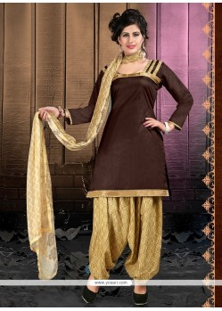 Magnetize Lace Work Designer Patiala Suit