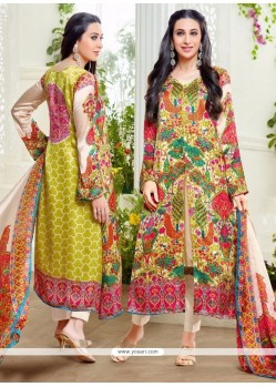 Karishma Kapoor Multi Colour Designer Suit