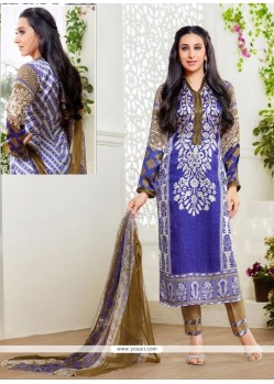 Karishma Kapoor Multi Colour Print Work Designer Suit