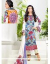 Karishma Kapoor Multi Colour Satin Designer Suit