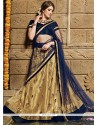Magnetic Net Lace Work A Line Lehenga Choli