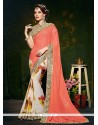 Majestic Satin Multi Colour Designer Saree